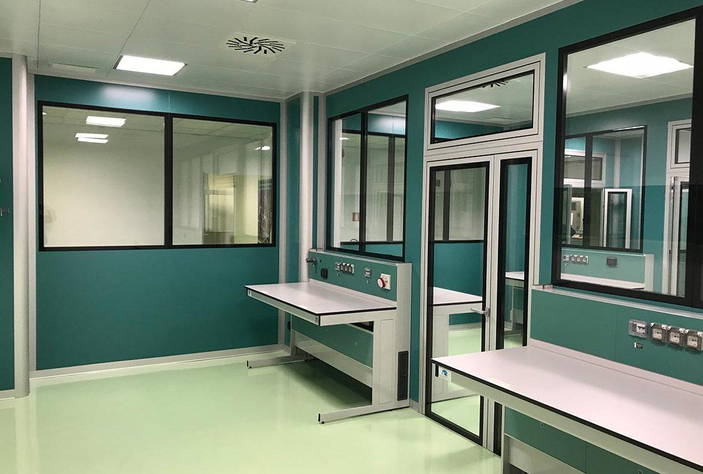 Gnosis laboratorio sterile dimensioni contract for Torino arreda contract